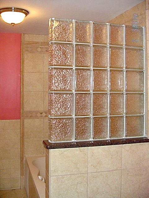 Glass Block Shower On Pinterest Glass Blocks Curved